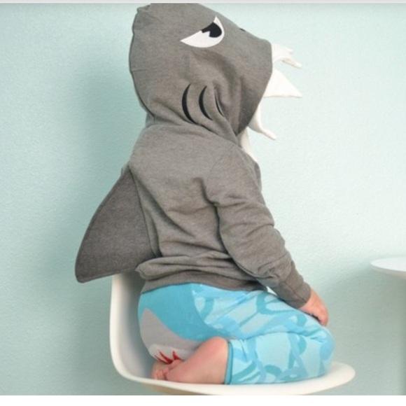 Doodle Pants Other - Doodle Pants Shark sweatshirt